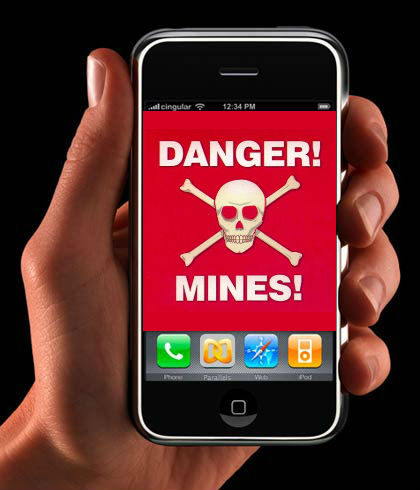 From the Bad Idea Department: A Landmine Detection App for your Smartphone